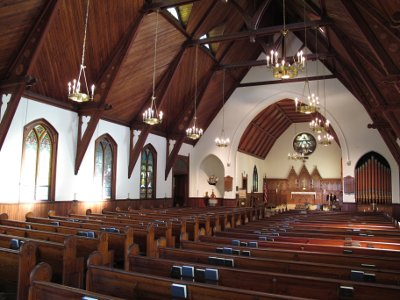 Interior of Holy Trinity, Spring Lake