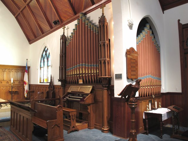 The Organ at Holy Trinity, Spring Lake