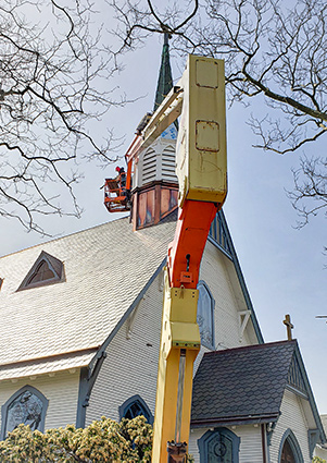 Steeple Construction